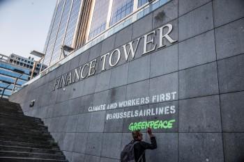 milieubeweging-blanco-cheque-Brussels-airlines-negeert-klimaatcrisis